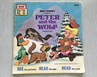 Disney's Peter and the Wolf children's book (no record)
