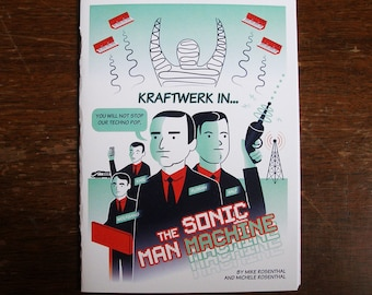 Kraftwerk In: The Sonic Man Machine comic