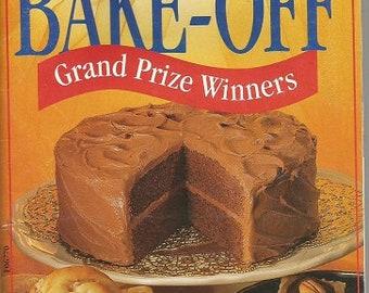 "Vintage Pillsbury ""Bake-Off Grand Prize Winners"" Cookbook"