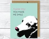 Funny Dog Card, Thank You Dog Card
