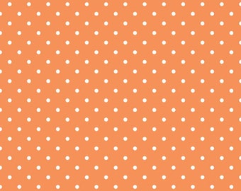goose down baby toddler sleeping bag, one size adjusts as baby grows, orange swiss dots, Baby Snap Sack®