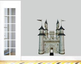 Real Life Castle - Kid's Room Nursery Printed Wall Decal