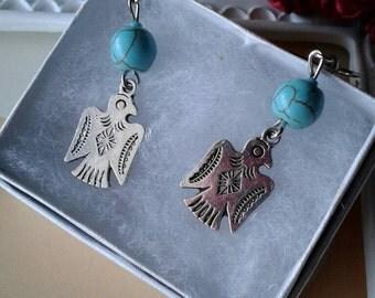 Thunderbird Earrings,Bird Earrings,Native American