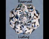 Reserved for A.V 14kt Rose Gold Morganite & Diamond Ring,  Final Pymt