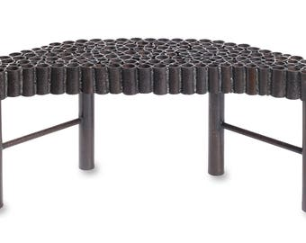 Crescent Moon Bench Outdoor Seating Garden Bench