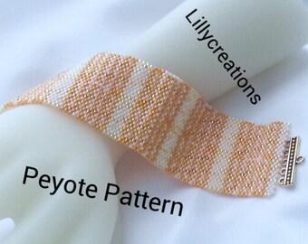Peyote Pattern Bracelet Fresh Spring