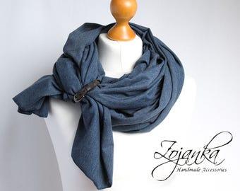 Cotton wrap, large scarf, fashion scarf, fashion accessories, ecofriendly scarf handmade, cotton wrap, cotton shawl, cotton spring shawl