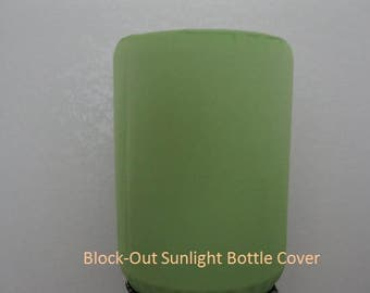 Block-out Sun Light Bottle Cover -5 Gallon Water