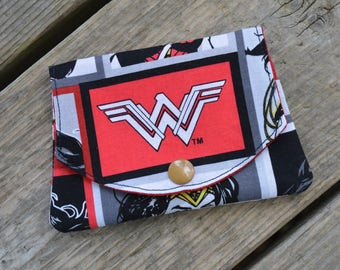 New 2017 Wonder Woman - Gal Gadot - grab-n-go credit card wallet