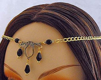 CELTIC Circlet, Gold Circlet, Celtic Crown bridal gold crown Renaissance Circlet Gold Wedding Veil gold wedding tiara Celtic Wedding Tiara