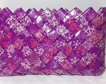 Purple Pleaser - Makeup Bag or Clutch