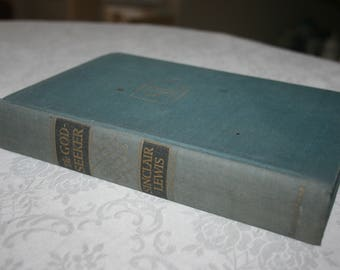"""Vintage Hard Cover Book """" The God Seeker """" by Sinclair Lewis 1949"""