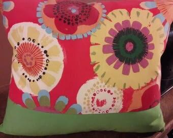 POP of FLOWERS SUMMER Pillow Cover,