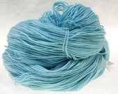 MADE to ORDER Choose Your Weight Hand Dyed Yarn - Icicle