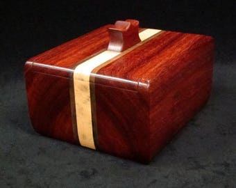 Wooden Keepsake Box, Jewlry Box, Heirloom Box