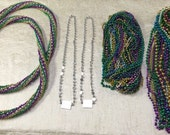 NOLA Marci Gras Beads- By The Pound RESERVED for Sheila 3 additional lbs beads