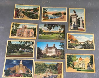 Vintage Hot Springs Arkansas Postcards, Lot, assortment, Large group