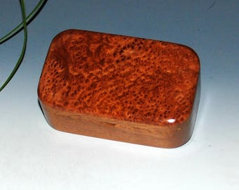 Wooden Trinket Box-Redwood Burl on Mahogany by BurlWoodBox- Small Wood Box-Wood Box-Wooden Box- Box-Wood Boxes-Small Wooden Boxes-Burl Boxes