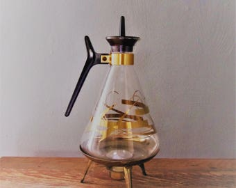 Mid Century Atomic 8 cup Carafe