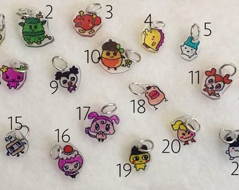 Tamagotchi Charms (choose which ones)