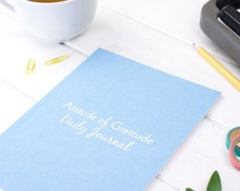 Gratitude Journal – Gratitude Notebook – Year Long Notebook – Annual Notepad – Mindfulness Diary