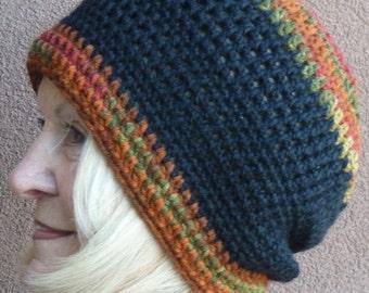 Slouchy hat women's crochet hat slouchy winter hat Women's fashion