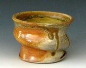 WHISKEY CUP #4 - Wood Fired Whiskey Cup - Woodfired Whiskey Cup - Wood-Fired Whiskey Cup - Whisky Cup - Whiskey Glass - Studio Pottery
