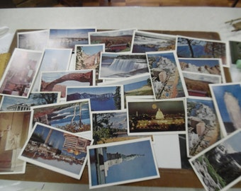 see the usa in your chevrolet cards, Chevrolet postcards, Chevrolet travel promotion postcards