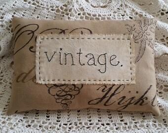 Prim Stitchery vintage Pillow ~OFG