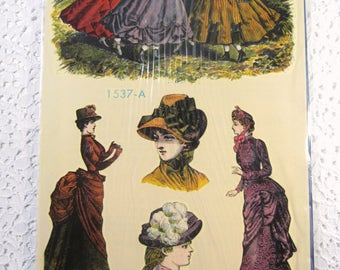 Vintage Victorian Ladies 70's Decals - Like New Condition, Only 1 Set Available