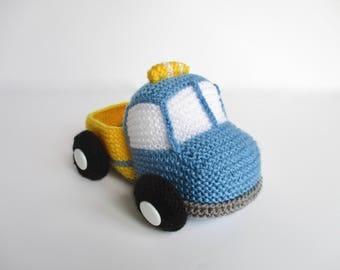 Toy Truck knitting pattern