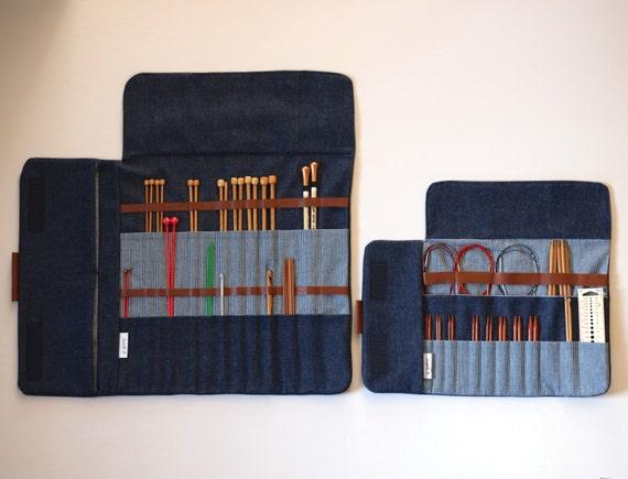 Knitting Organizer Case : Knitting needle case circular