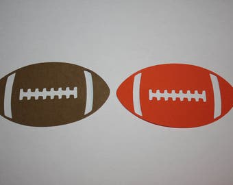 18 x Football Die Cuts
