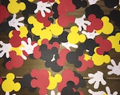 Mickey Mouse Confetti...Perfect for a Mickey Mouse Birthday.