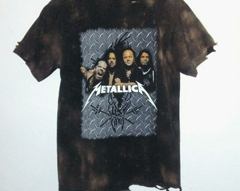 2 Sided / Metallica T Shirt / Band Tee / Rocker Tee / Graphic /Concert/ Tour Shirt / Indie / Grunge /RockNRoll / Unisex / Women / Men / Guys