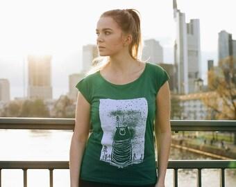 Halfbird Bear Women Shirt Bamboo Limited