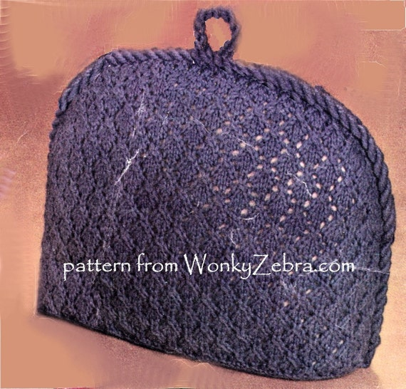 Vintage Tea Cosy Knitting Patterns Free : Three vintage tea cosies cosy knitting patterns
