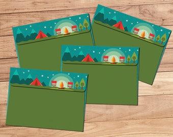 Envelope Pack - Campfire