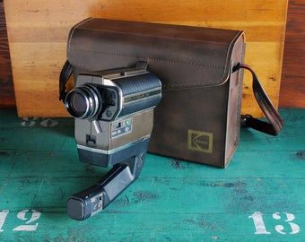 Kodak Ektasound 240 Super8 Movie Camera with Case
