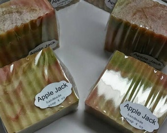 Apple Jack handmade soap