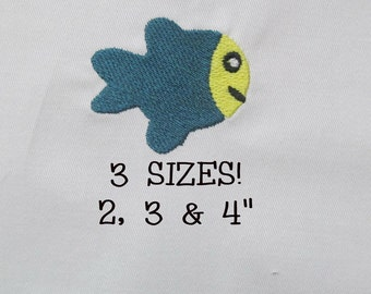 Buy 1 Get 1 Free! Fish Embroidery Design Mini Fish Embroidery Design Small Fish Embroidery Design Digital File Embroidery Pattern Machine Em