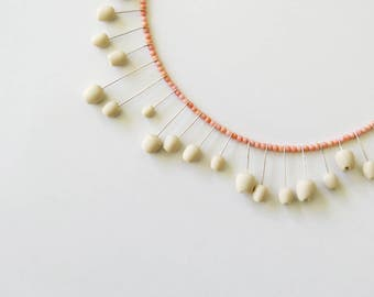 nO. 176 ' tulips around your neck' necklace