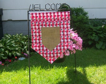 Personalized Two Sided Garden Flag