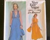 Vogue 1435 * Leo Narducci * American Degsigner Original * 1970s Dress Pattern