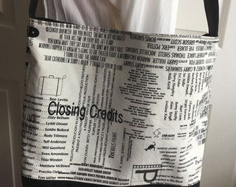 Movie buff Tote Bag, Closing Credits