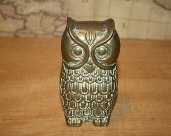 Brass Owl - item #2278