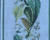 Flowers in a Row – Lily of the Valley – Permin of Copenhagen – Danish Art Needlework – Bell Pull Chart 155175