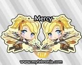 Mercy - Keychain Charm
