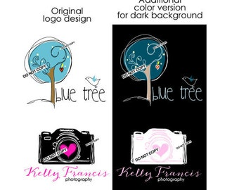 Reserved for someone purchased the logo from me  - NEED additional color version of your logo - color change your final design