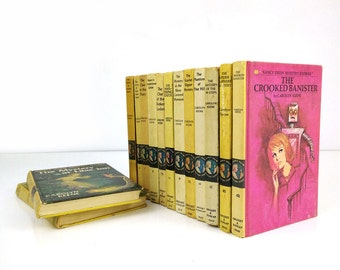 Nancy Drew Mystery Stories Set of 14 Books